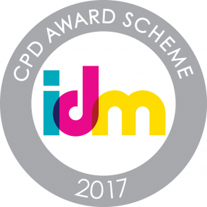 AdPlace wins The IDM CPD training award for 2017