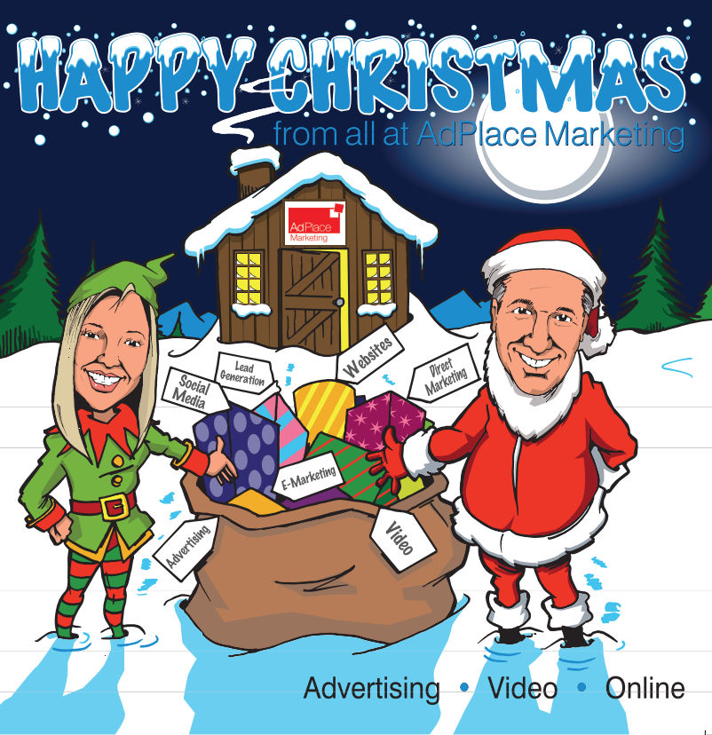 merry christmas from adplace marketing